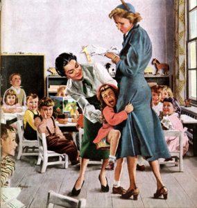 okul fobisi ayrılma anksiyetesi
